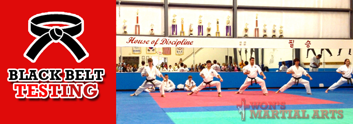 Black Belt Testing: March 17th