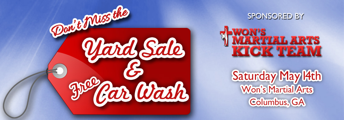 Yard Sale & Free Car Wash
